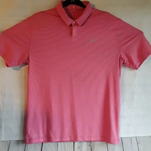 NIKE MENS POLO SHIRT DRIFIT TIGER WOODS COLLECTION